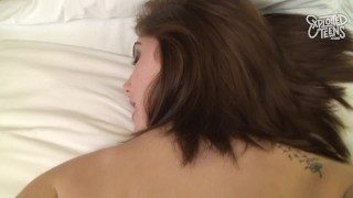 Cute 18 Yr Old Redhead Gets Her Tight Pussy Stretched Out